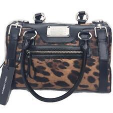 Dolce Gabbana D&G de animales del leopardo impresión & Bolso de mano cubierta de polvo + tarjeta de autenticidad