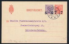 Denmark. 1926. Older stationery