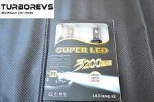 CANBUS H7 6000K LED KIT SUPER BRIGHT CONVERSION LIGHT WITH OSRAM LED CHIP A2