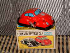 "Yoneya (Yone) Volkswagen ""Forward~Reverse&#03 4; Clockwork Tin Beetle W/Box ""F.D.""."
