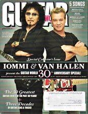 Guitar World Magazine Anniversary 2010 Tony Iommi & Eddie Van Halen, AC/DC