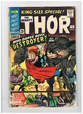 Thor King Size Special # 2 Marvel Comics September 1966 Jack Kirby Stan Lee VG