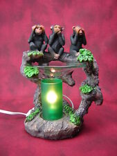 Monkeys Burner Wax Tart Scented Oil Candle Warmer Electric Polyresin