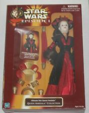 """1998 Star Wars Episode I Queen Amidala & Padme Doll Lot of 3 Different - 12"""""""