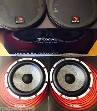 "FOCAL UTOPIA Be COPPIA WOOFER SPEAKERS 6.5"" DAL KIT 165W-RC > MADE IN FRANCE"