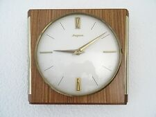 Dugena Retro Wood Kitchen German Wall Clock Vintage (Junghans Mauthe Hermle era)