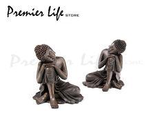 Thai Estatua De Buda-Grande 12 Cm De Frente De La Rodilla tailandés Estatua De Buda