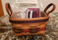 Longaberger 1993 All Star Basket Combo W/ Liner And Protector 64408
