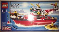 LEGO City 7207 BATEAU DE POMPIER de 2010 100% NEUF JAMAIS OUVERT