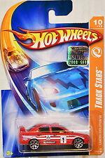 HOT WHEELS 2008 TRACK STARS LANCER EVOLUTION VII #10/12 RED FACTORY SEALED