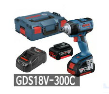 Bosch GDS 18V-300 Impact Wrench 2x5.0Ah BL 300Nm 12.7mm LED 3.5lbs Charger_220V