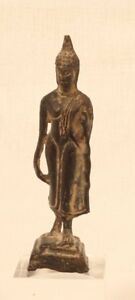 Thai Buddhist Sukhothai Period walking Buddha figure