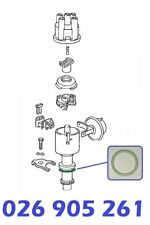 O-Ring Dichtring Zündverteiler 28x43x3mm AUDI 100 (44, 44Q, C3) (4A, C4) 2.3 E