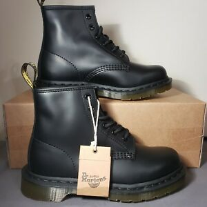 Dr Martens 101 Smooth Leather 6 Eye Ankle Boots New Women's Sz 7
