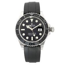 Rolex Yacht-Master 42mm Oro Blanco Dial Negro Reloj automático para hombre 226659