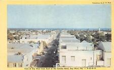 Key West Fl Concha Hotel Roof View Looking West Postcard