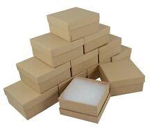 Kraft Cardboard Jewellery Box Deep Bangle Watch Bracelet Gift Packaging