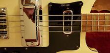 Zero-Mod 4001 BLACK Thumb Rest / Tug Bar for RICKENBACKER 4001 Bass - NO HOLES!