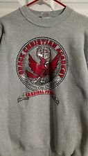 Fruit of the Loom Heavy Cotton Gray Sweat Shirt Size XL Grace Christian Academy