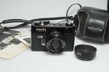 Minolta Hi-Matic E + Rokkor-QF 40mm F1.7