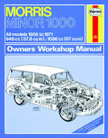 Morris Minor 1000 - Reparaturanleitung workshop repair manual Handbuch Buch book