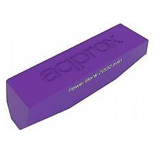 Batería externa Approx Powerpump 2200mah Lila