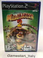 MADAGASCAR 2 - SONY PS2 - VIDEOGIOCO NUOVO SIGILLATO - NEW SEALED PAL VERSION