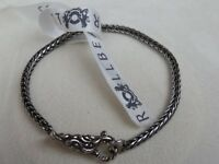 BN GENUINE TROLLBEADS BRACELET WITH WATER LOCK - LENGTH 18CMS WITH LOCK