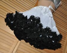 PP16 - Fluffy feminine flouncy French Maid petticoat, BN, adult, triple layered