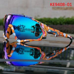 KAPVOE Sunglasses Bike glasses Cycling Polarized Sports Cycling Goggles BicycleL
