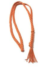 Neck Rope Bridleless Riding Horse Tack, Burnt Orange   Neck Rope