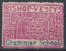 """Bishop Vessey's Grammar School """"Stamp""""; Sutton Coldfield; SOLD AS SEEN;see scans"""