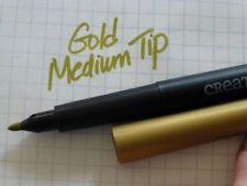 NEW Creative Memories Medium Tip GOLD Metallic Pen Scrapbook Card Craft Marker