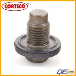Engine Oil Drain Plug with Seal Ring (14 X 1.5 mm) Corteco Fits: Mini Cooper