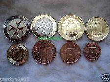 MALTA 2016 SERIETTA  FDC (8 monete) UNC CON SEGNO DI ZECCA F (FRANCIA) MALTE