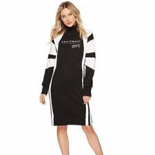 Adidas Originals x Equipment EQT S Small Knit Dress Long Sleeves Racing Stripes