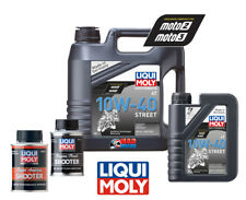 LIQUIMOLY Motorcycle Promo Pack 10W40 Semi Synthetic Engine Oil + Engine Flush