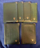 Authentic Rolex Passport Holder / Wallet