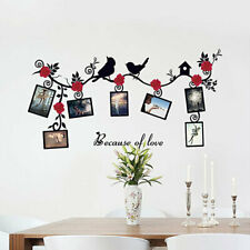 Photo Frames Birds Tree Wall Stickers Family Art Decal Home Decor Removable