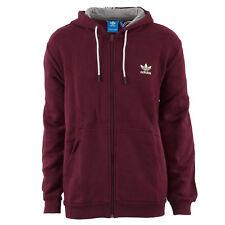 adidas Herren Zip Hoodie AY8269 Essentials FZ Jacket Maroon   XL    Sweatjacke 4269801fb0