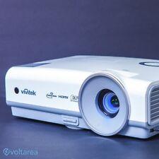 Vivitek D859 DLP Projector 3600 ANSI HDMI 3D-Ready w/remote and cables