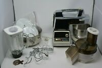 OSTER Crown Regency Kitchen Center Stainless Stand Mixer Jar Plus More - Vintage