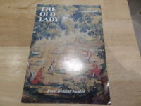 THE OLD LADY SEPTEMBER 1981 - ROYAL WEDDING NUMBER - MAGAZINE OF BANK OF ENGLAND