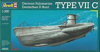 KIT REVELL 1:350 SOTTOMARINO GERMAN SUBMARINE TYPE VII C   ART 05093