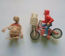 Vintage Lot of 2 E.T. and Elliott toys, plastic