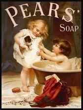 Pears' Seife,Badezimmer Showeroom Vintage Inserenten,Neuheit Kühlschrank-Magnet