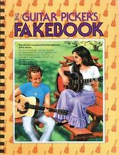 The Guitar Picker's Fakebook by David Brody -Songbook Sheet Music Song Book