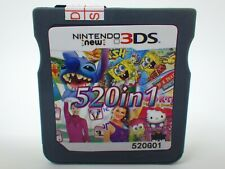 520 in 1 Game Games Cartridge Multicart For Nintendo DS NDS NDSL NDSi 2DS 3DS
