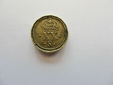 More details for charles 1st carolus rex 20 shilling merchants coin weight