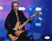 Phil Collen Def Leppard Autographed Signed 8x10 Photo Certified JSA COA AFTAL